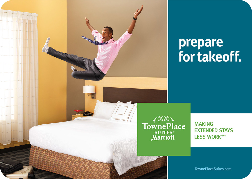 Ad campaign for TownePlace Suites by Marriott