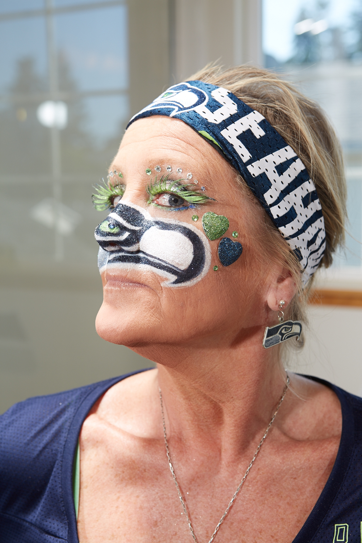DeDe Schumaier (Mrs. Seahawk), 2014
