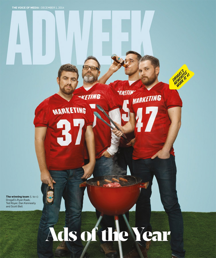 Droga5 for Newcastle / Best Ad of 2014 - Adweek
