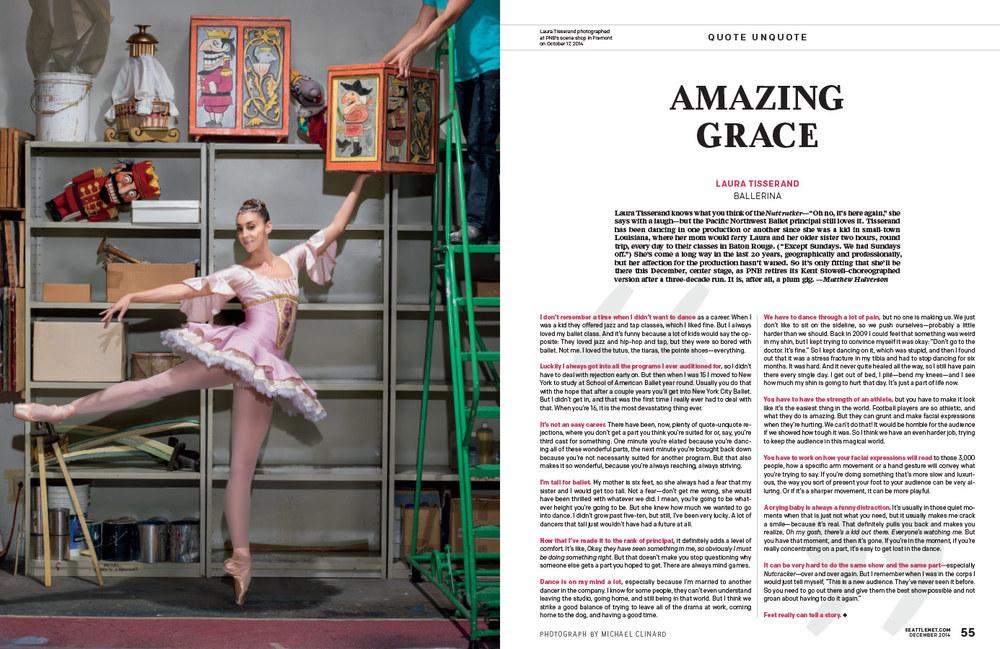 Laura Tisserand / Pacific Northwest Ballet - Seattle Met Magazine