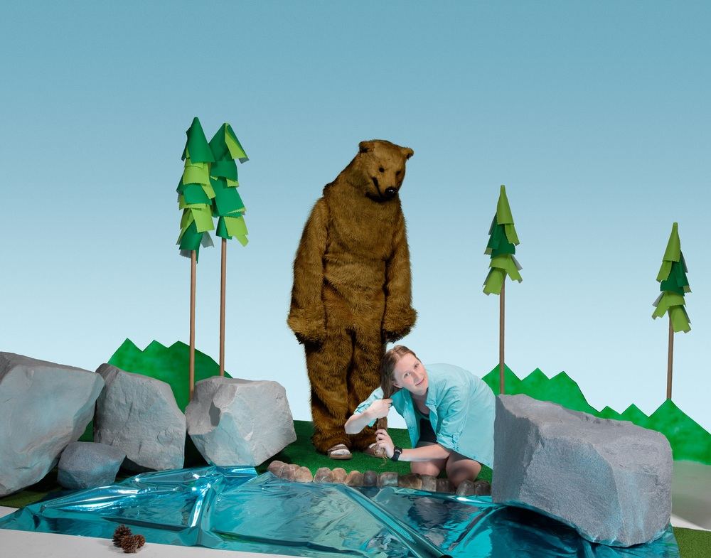 Bear Lake, 2016. Katy Nuttman and Reed Larson, talent. Sara D'Eugenio, art direction. Zach Vitale, retouching.