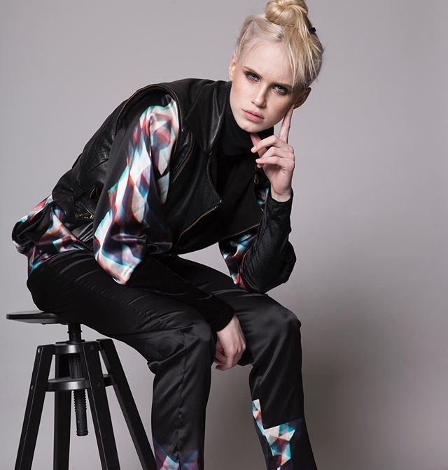 Never get bored of prints!! Kaleidoscope print for A/W '18 Check out our webpage  www.another-creation.com  #fashion #icelanddesign #design #luxuryfashiondesigner #luxurious #luxurylifestyle #leatherjacket #silk #silkdress #icelandicmodel