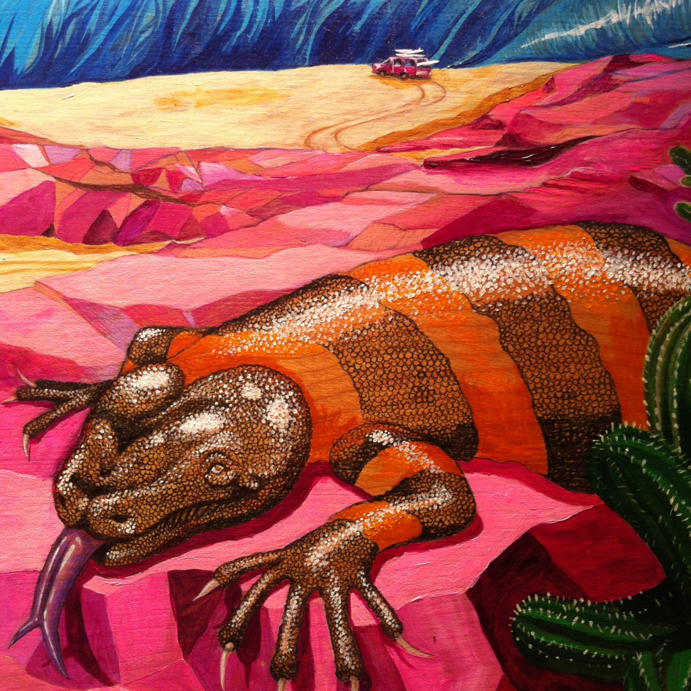 Detail of the piece I have featured in the show -