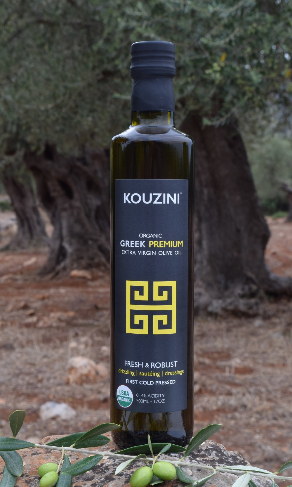 USDA Organic Ultra Premium Greek extra virgin olive oil