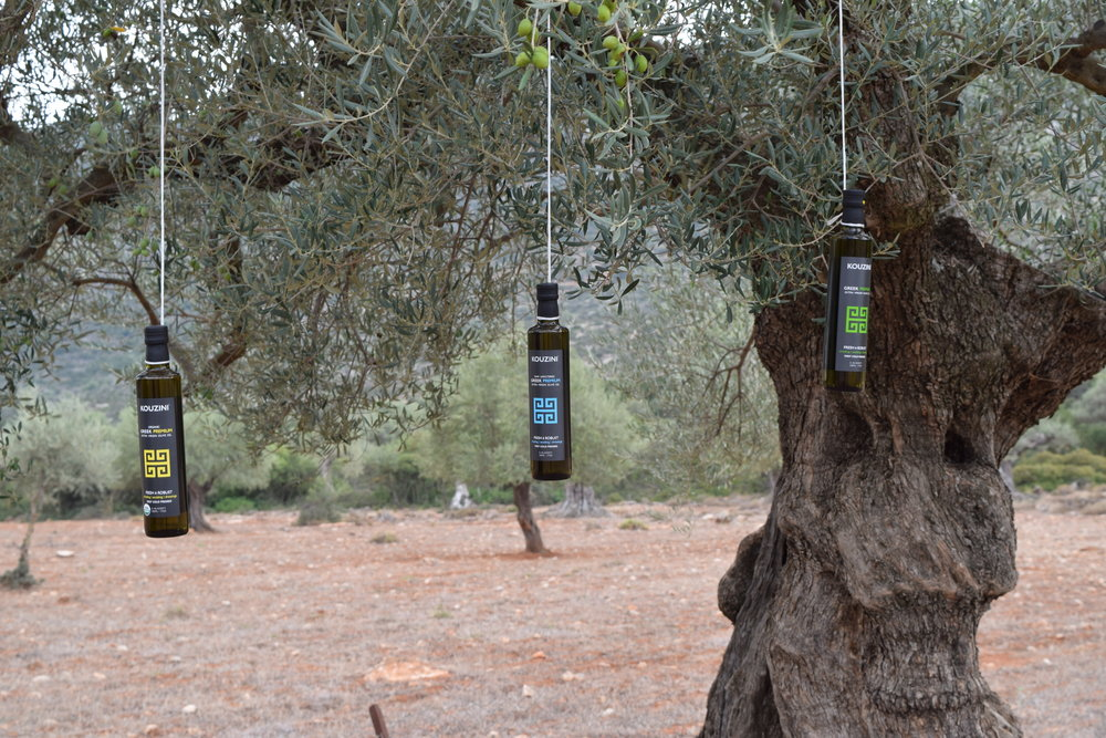 As fresh as it gets! Kouzini, from tree to you. Taste the Greek fresh difference!