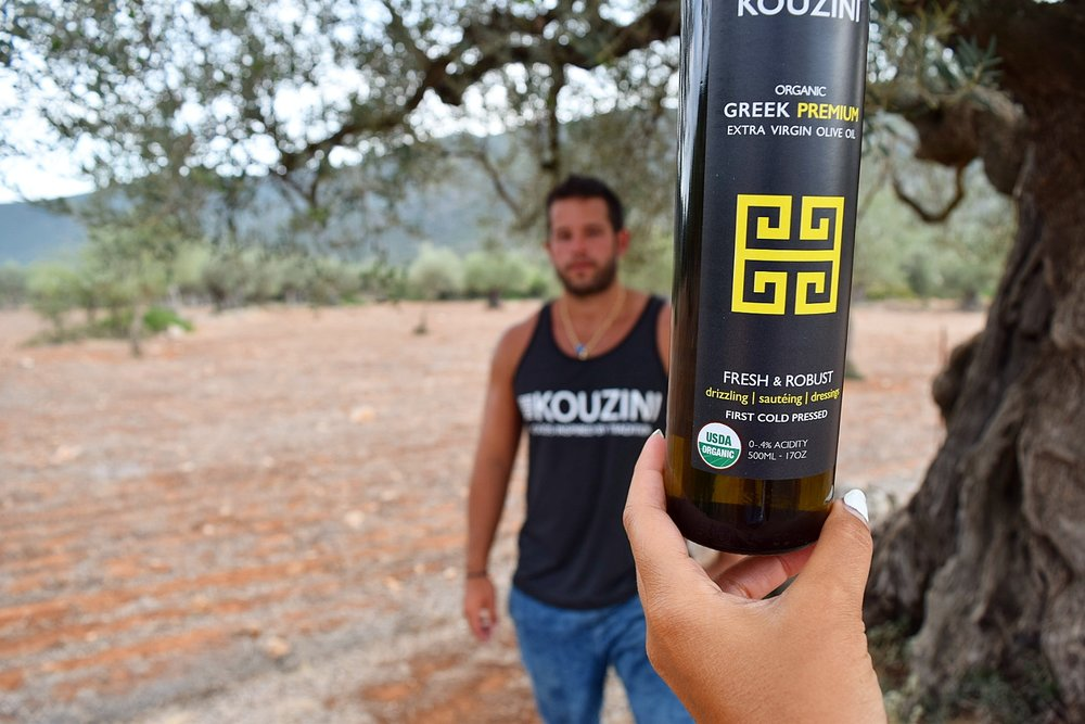Kouzini Greek Organic Olive Oil