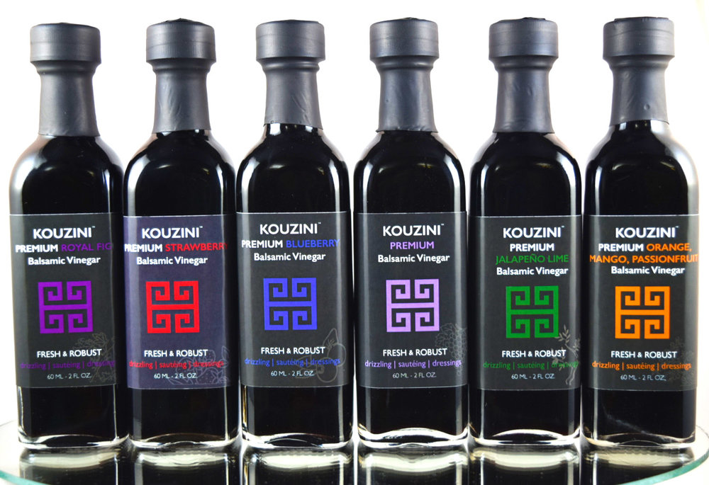 KOUZINI  ULTRA PREMIUM balsamic vinegar from modena italy.