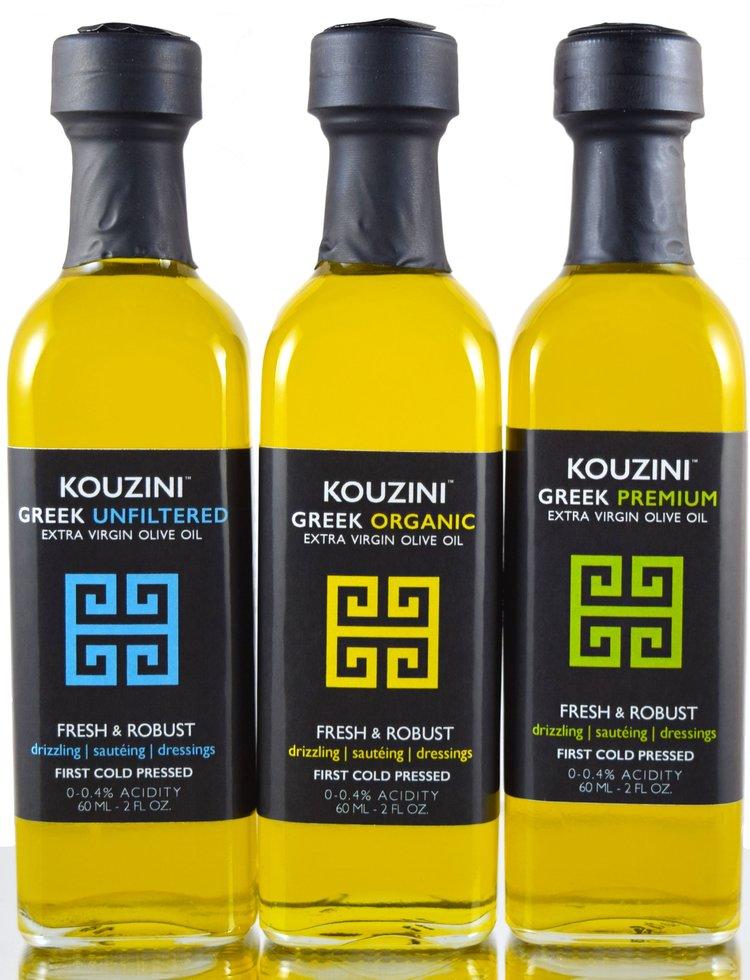 Kouzini Greek Extra Virgin Olive Oil Kouzini Organic Unfiltered