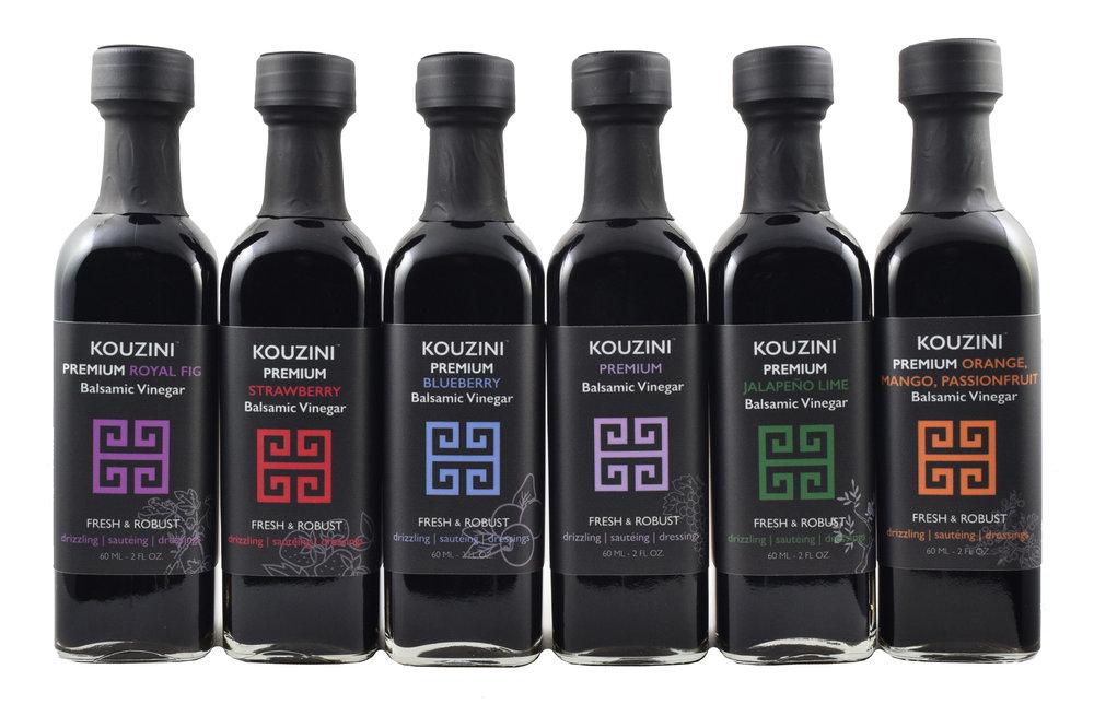 Flavored Balsamic Vinegar Family