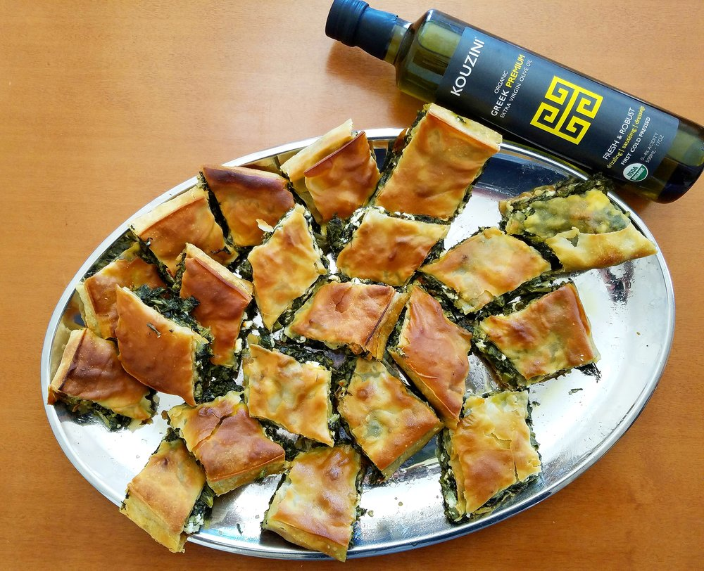 Extra Virgin Olive Oil Spanakopita!