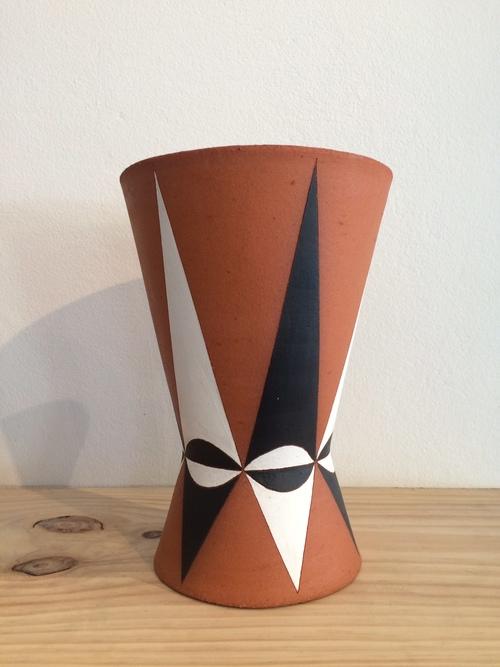 geometric vase geometric ceramic plantervase sharon muir the d e a store