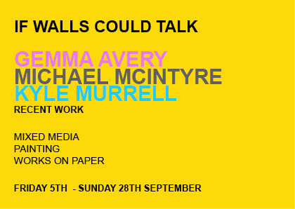 If Walls Could Talk  |  AVERY + MCINTYRE + MURRELL