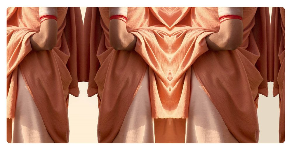 ROBES OF HANUMAN 42 x 80cm PIGMENT PRINT $850 FRAMED $600 UNFRAMED