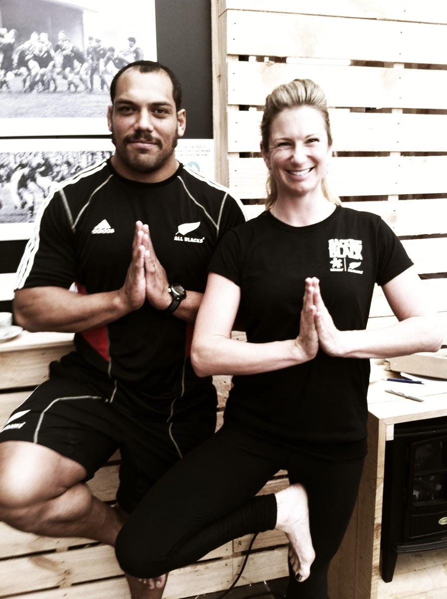 All Blacks- Pre RWC yoga
