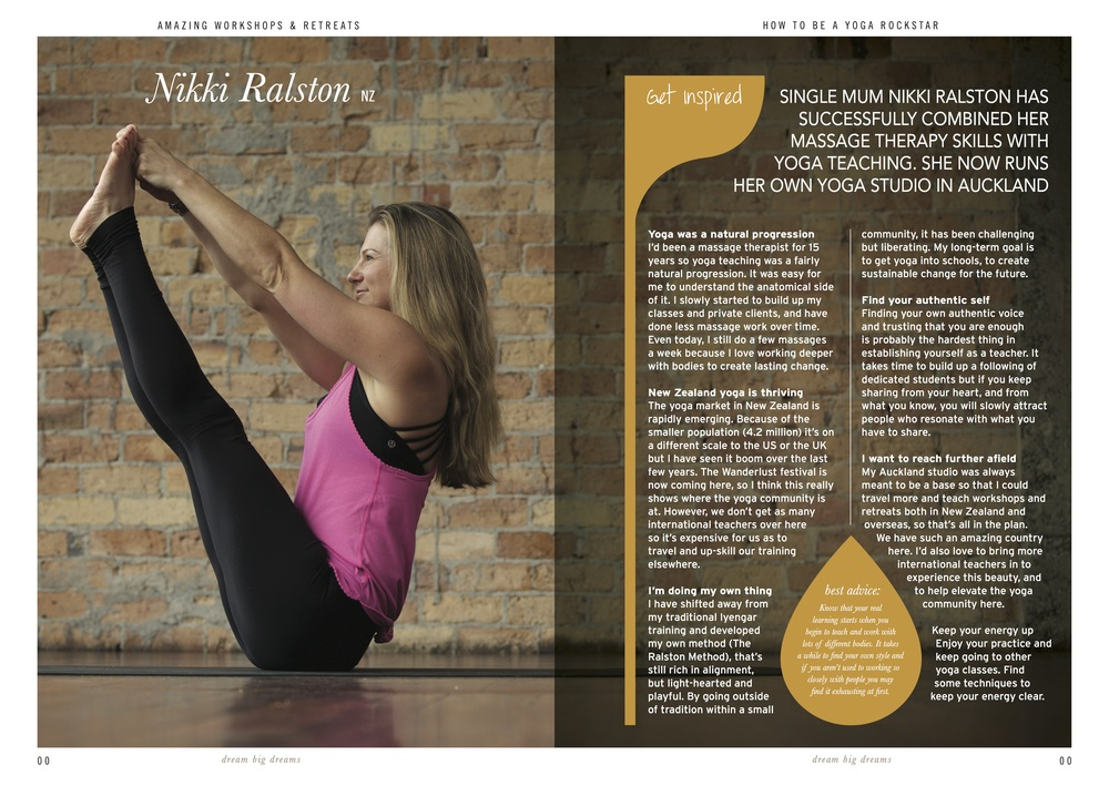 UK published book 'How to be a yoga rockstar' by Martin Clarke