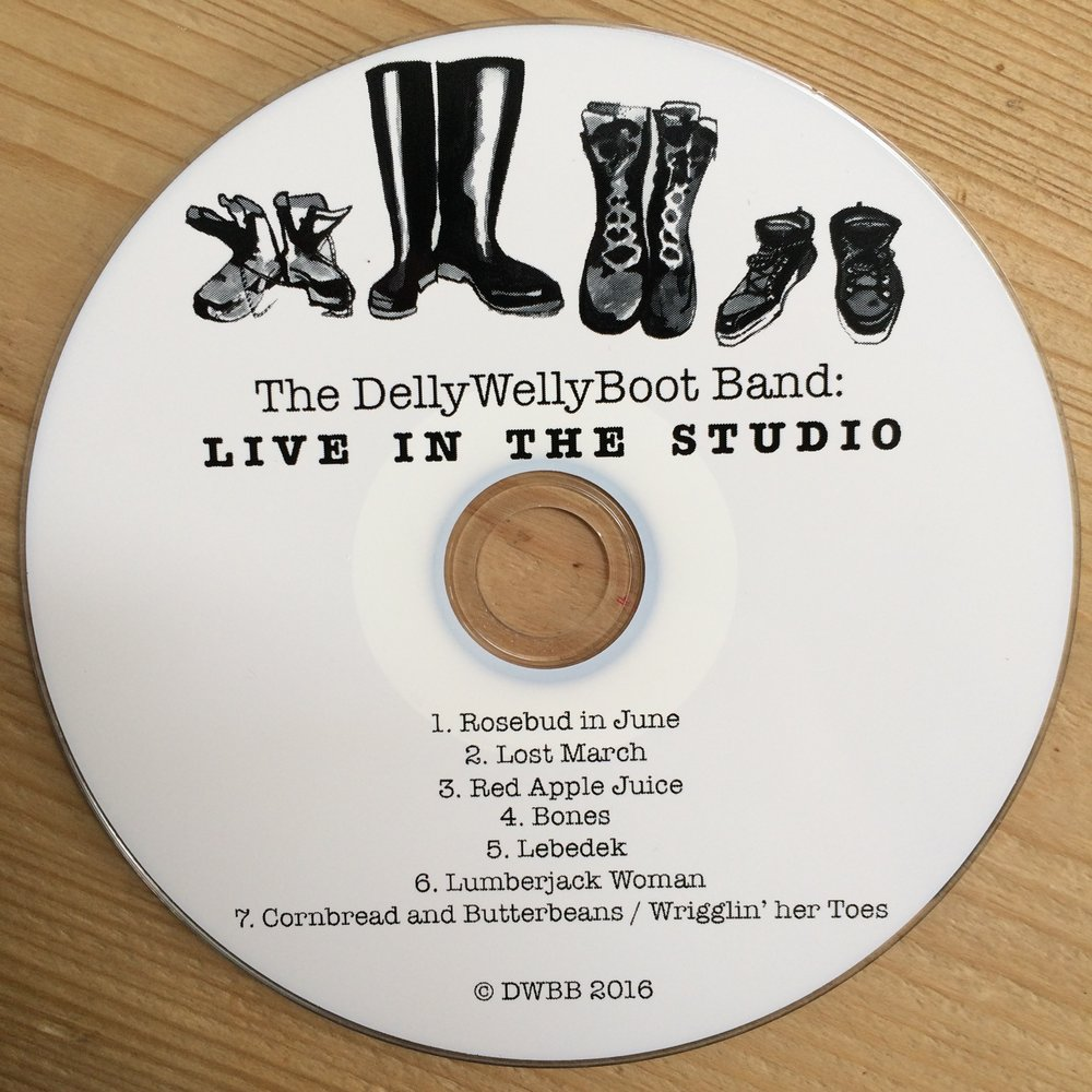 The DellyWellyBoot Band: LIVE IN THE STUDIO  Susanna's band - recorded before the name change!