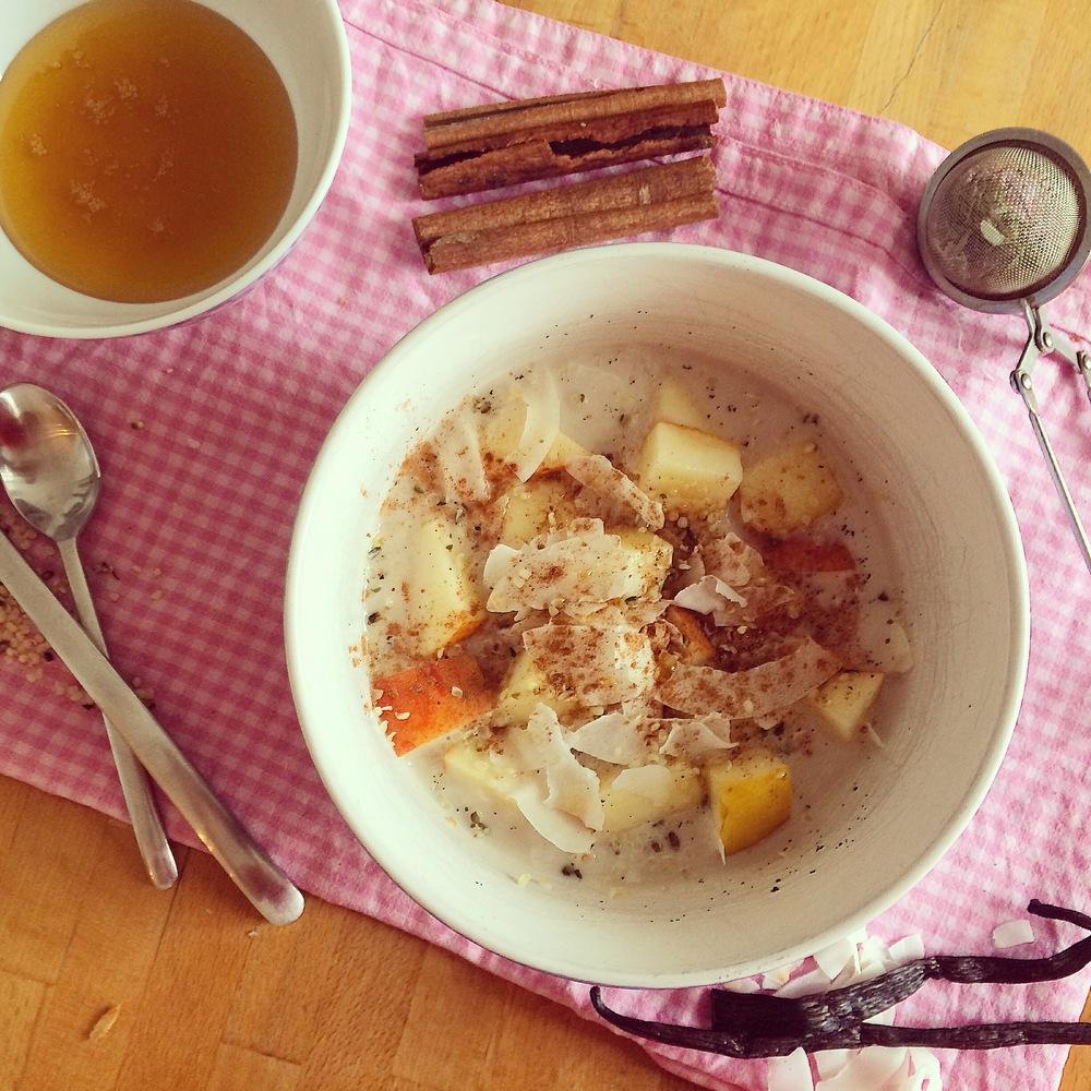 """Slow"" Sunday Quinoa Porridge"