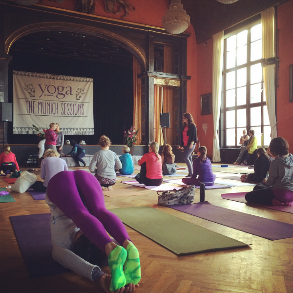 The Yoga Journal Munich sessions, in the beautiful Kunstlerhaus