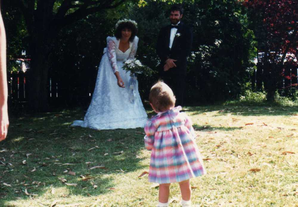 Hands down my favourite baby photo.. at the wedding of my beautiful Aunty Tracy