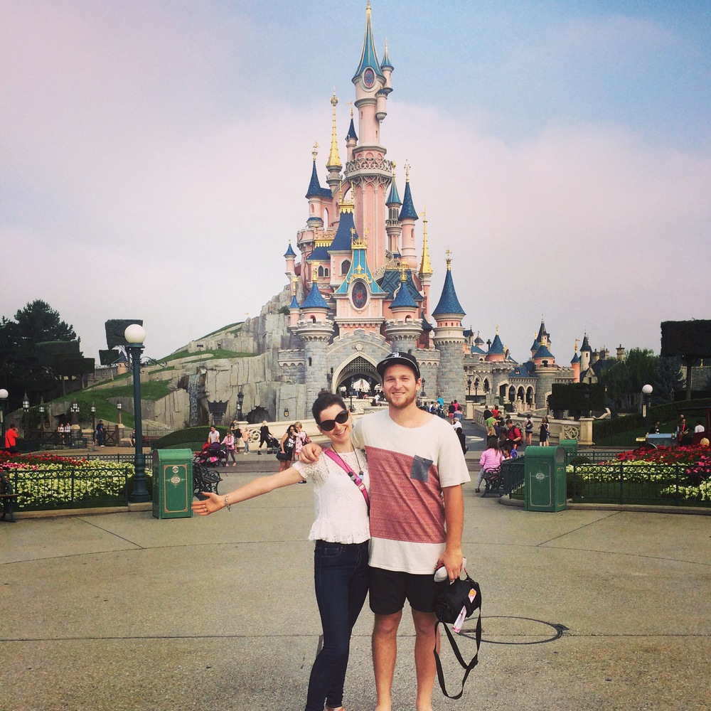 July: The day I laughed the most, Disneyland Paris.