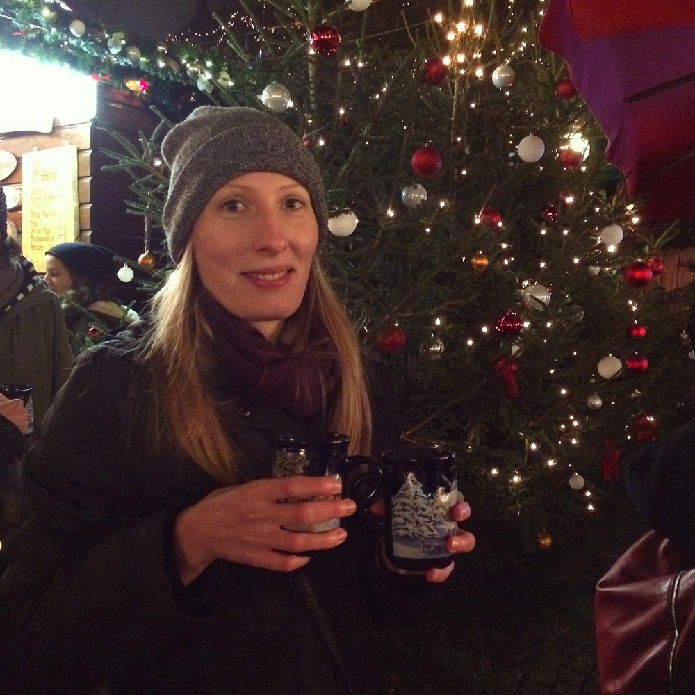 November: The Christmas Markets open, lots of Gluhwein consumed, Munich.