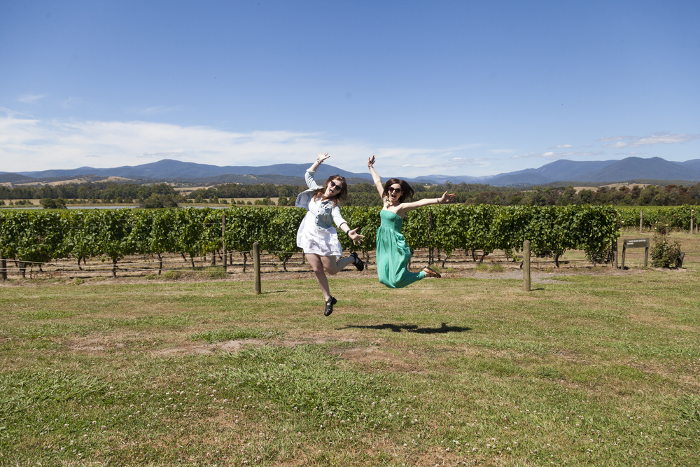 Domaine Chandon - my favourite winery, in the Yarra Ranges. Photo cred @kylepasalsyj