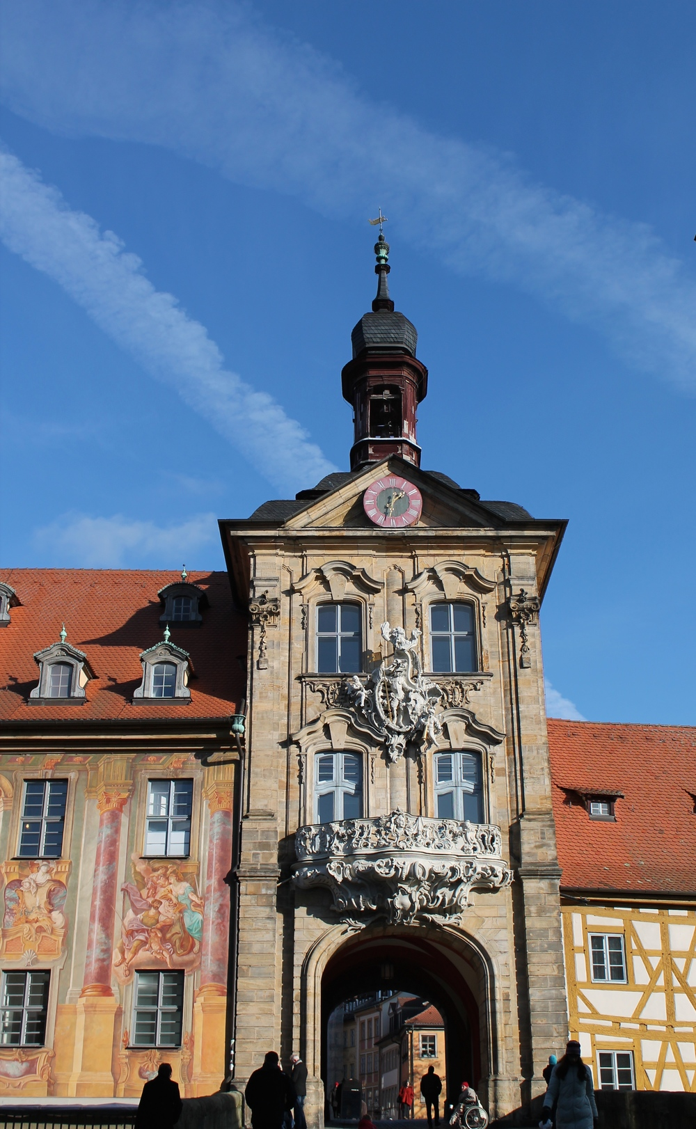 The Altes Rathaus (Old Townhall) in the Altstadt