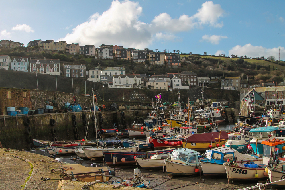 This is actually not Port Isaac, but another Cornish fishing village down the road called Mevagissey - my photos from here turned out much better