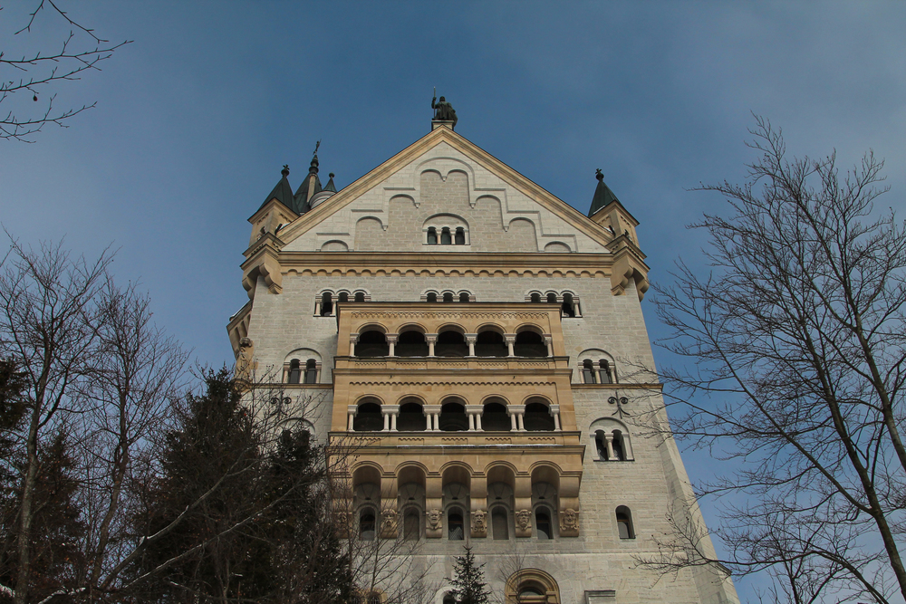 Schloss Neuschwanstein: the most famous of Ludwig's castles