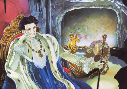 Ludwig II, the Manga series. Because I couldn't resist. ROFL!