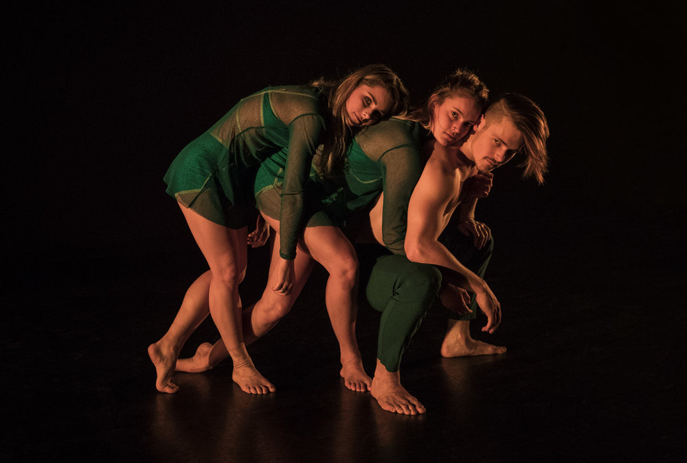 Company Dancers - Reagan Williams, Olivia Kingston and Alex Warren