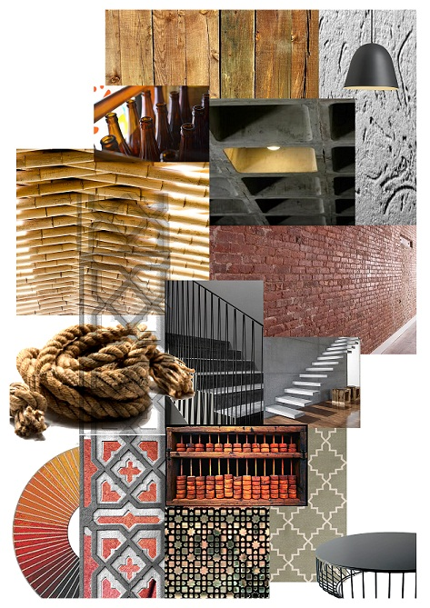 interior design with sustainable materials