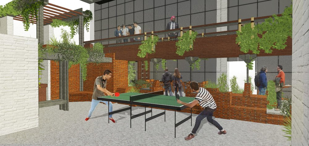 QA Infotech Coworking - play area