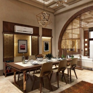 Arch House, Exterior | Interior Design Swarna Nagri, Greater Noida  (BUA 4800sqft