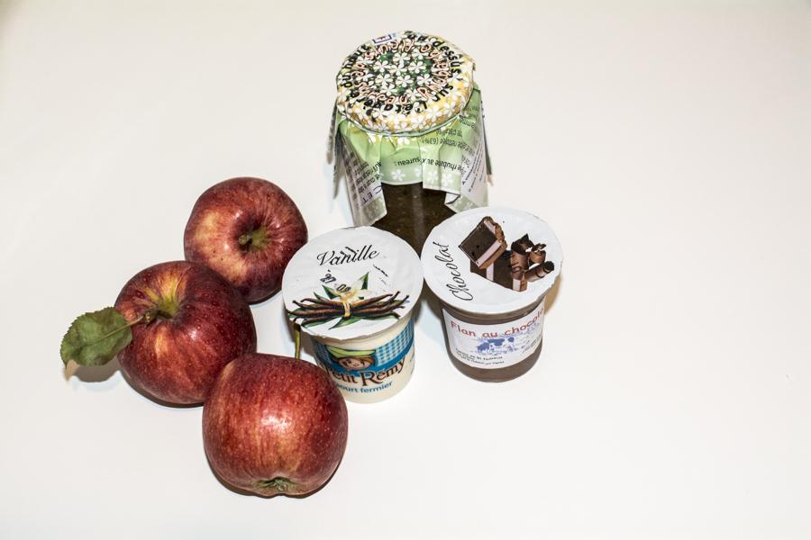 Hmmm les yaourts !!