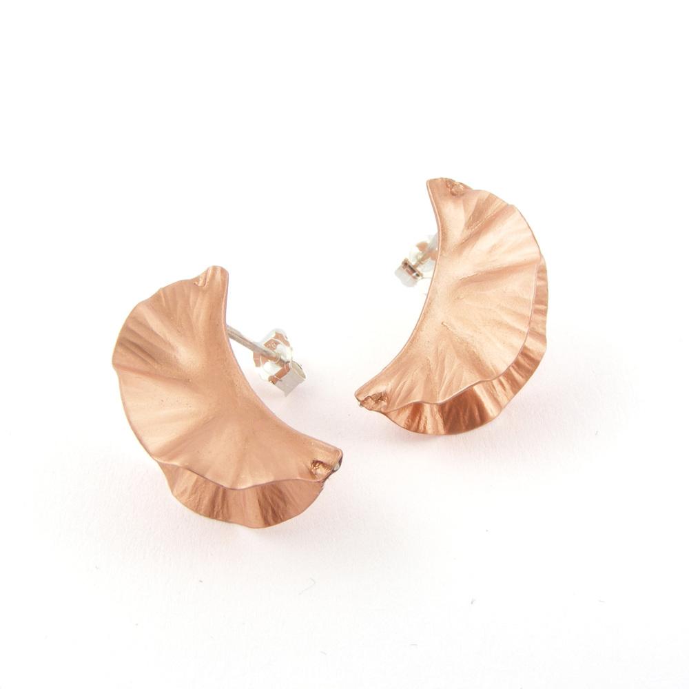 Copper Ostrea Studs