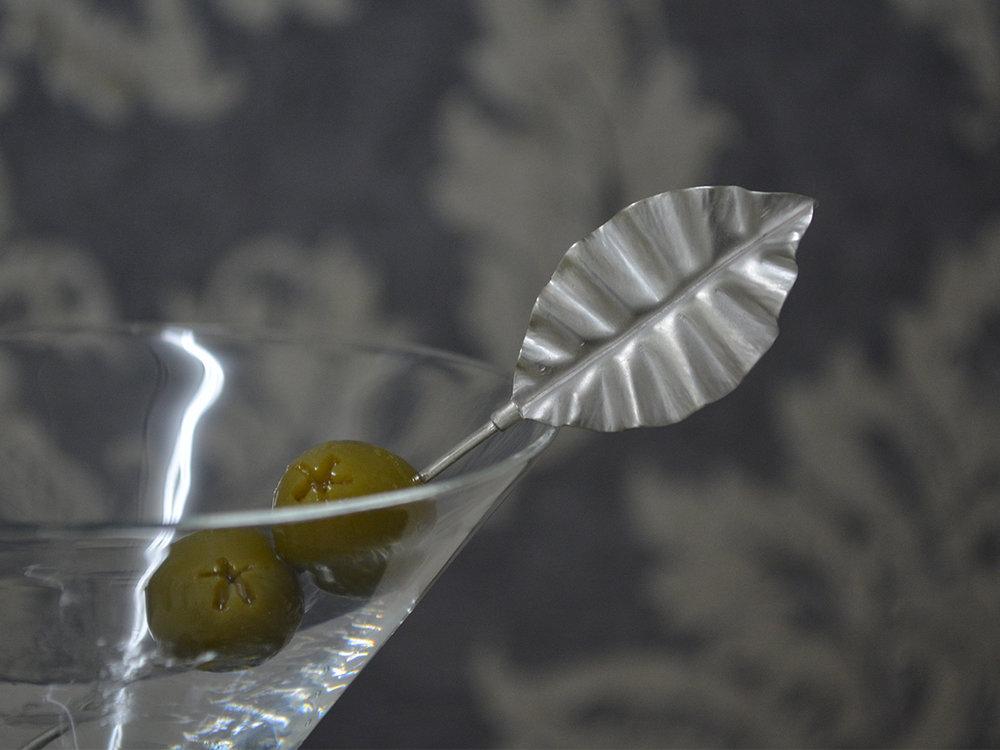Fine & Sterling Silver Olive Stick