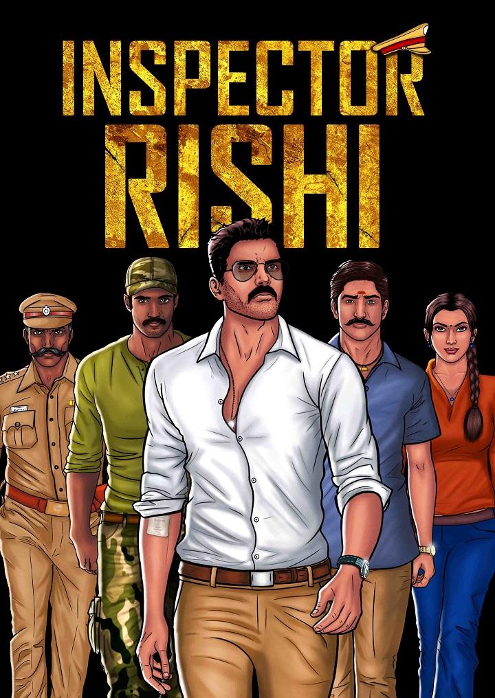 inspector rishi-nandhinijs-comics-india