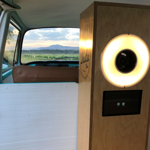 THE BOOTH - While Lola runs on horse power, Our photo booth runs on selfie power. More selfie power than the Kardashians! Lola may be over 45year old but our booth certainly is'nt. Purpose designed lighting and very high quality photography equipment making high quality memories that last.