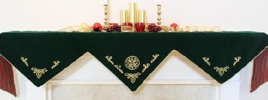 Celtic Knot Mantel Scarf