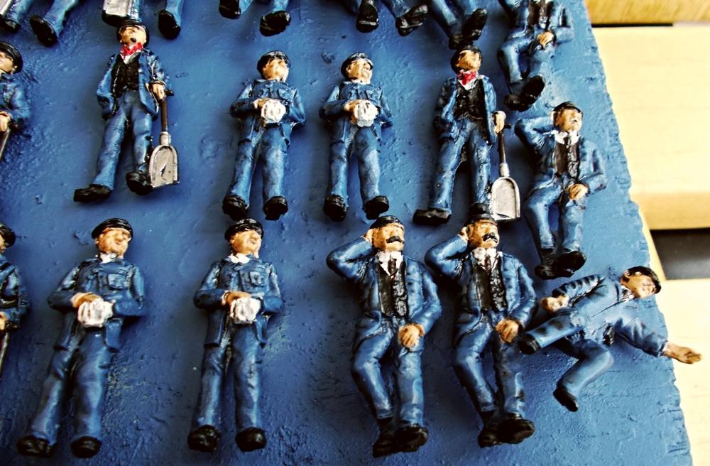 swansea railway modellers group tips for painting model figures in