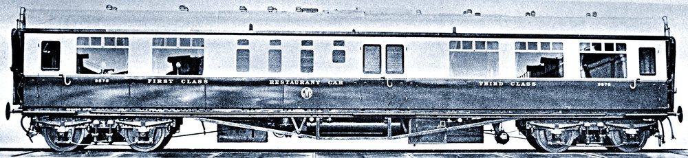 Collet Bow-ended Composite Restaurant car to Dia H33, as rebuilt in 1939
