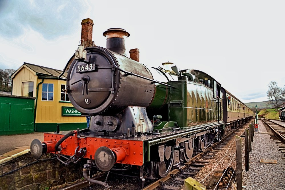 5643 on the West Somerset Railway - Photo by Tony Richards