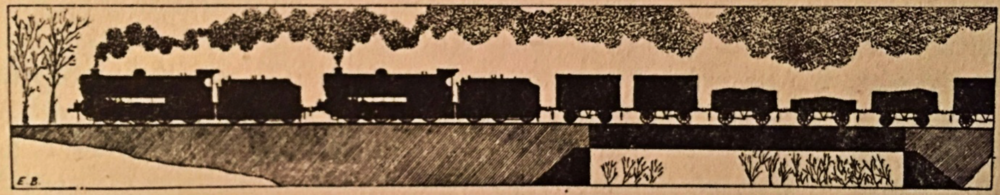 A plate from the Revd. Edward Beal's 1935 book 'Railway Modelling in Miniature'