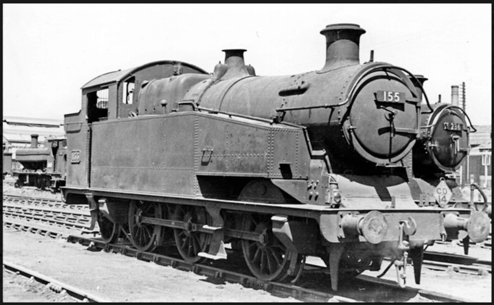 I'd put good money on nobody recognising this unusual tank, although it has obviously been rebuilt by the GWR at some stage. It is, in fact, the last surviving 0-6-2T, built by Kitson for the Cardiff Railway and rebuilt by the GWR in 1928, standing in Cardiff East Dock yard on 27th July 1950.  Photo: Ben Brooksbank, Creative Commons Attribution