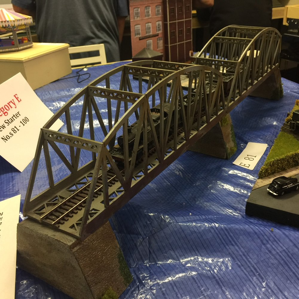 Chris Zajac's girder bridge