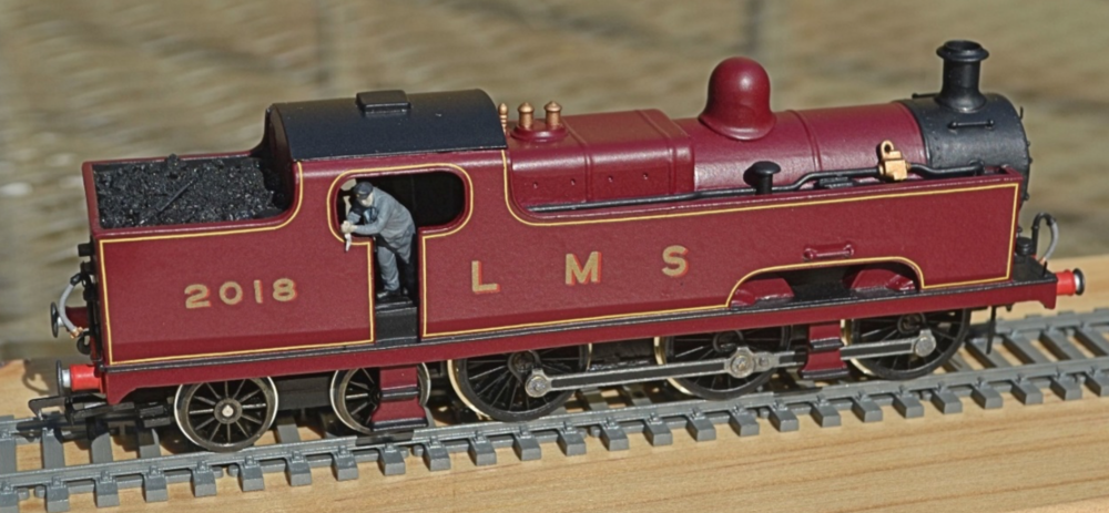 Tony Richards' kit-built LMS 'Flatiron' tank