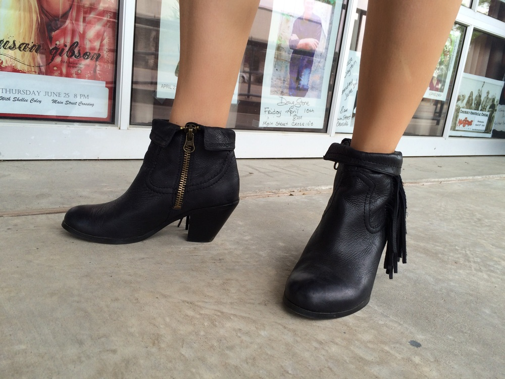 Booties: Sam Edelman