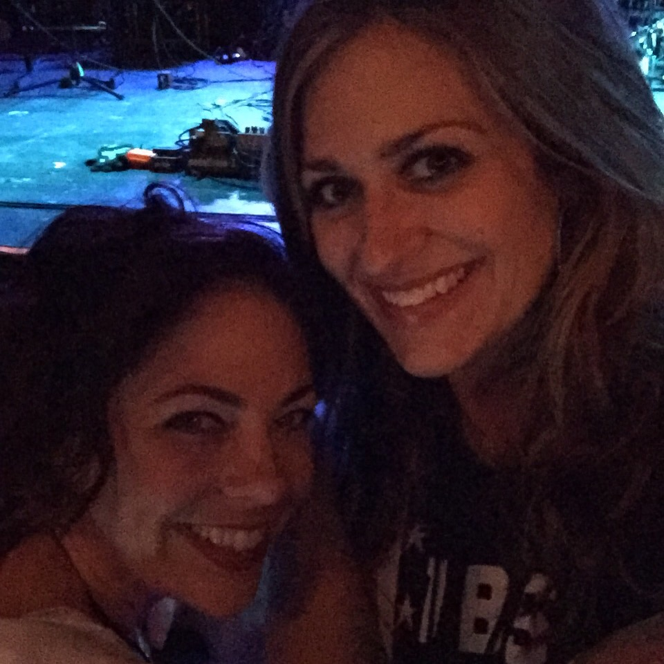 Second night in Houston with my friend, Erin.