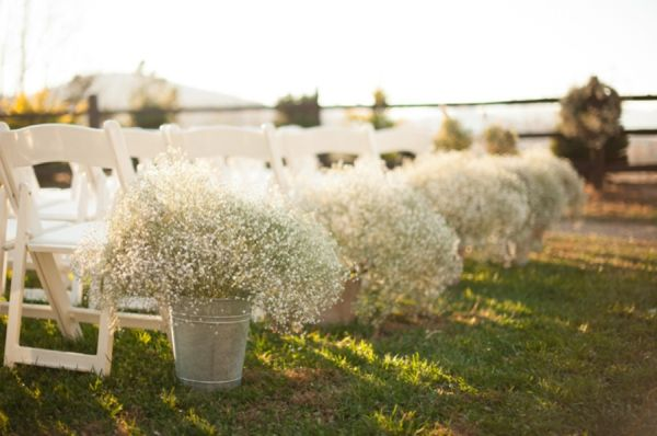 Rustic Wedding Flower Trend Baby S Breath Serena Rose